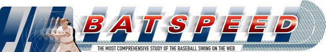Batspeed - The most comprehensive study of the baseball and softball swing on the web